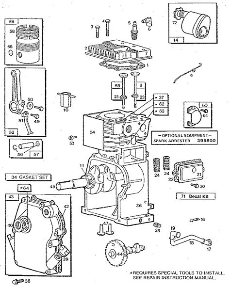 briggs and stratton wiring diagram 12 5 hp briggs and