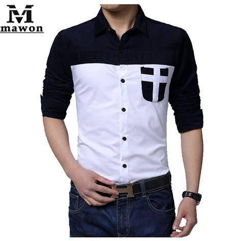 design a long sleeve shirt aliexpress com buy plus size 5xl 2015 new design men s