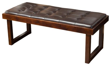 ultra contemporary black genuine leather bench ottoman with contemporary ottomans and benches benches ottomans