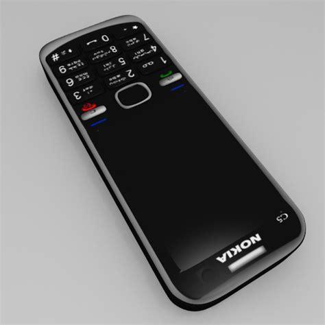 nokia c5 mobile nokia c5 mobile free vr ar low poly 3d model obj 3ds