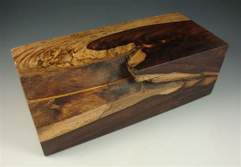 one of a decorative handmade wooden boxes seaton