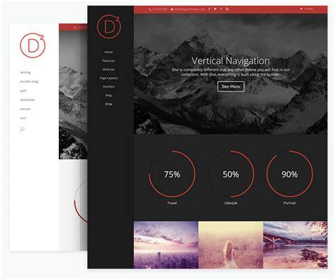 wordpress themes free vertical navigation divi theme review a true multipurpose wordpress theme