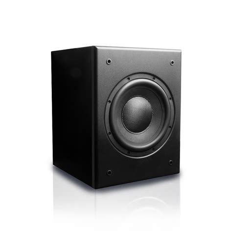 Speaker V8 mk sound v8 ultra compact 8 quot powered subwoofer