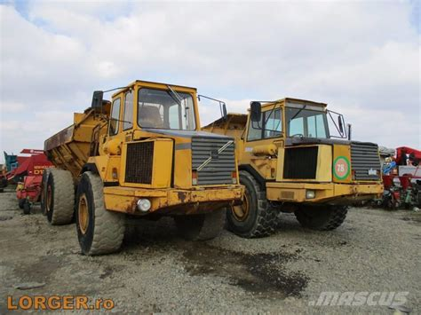 volvo dump truck used volvo a 25 c articulated dump truck adt year 1994