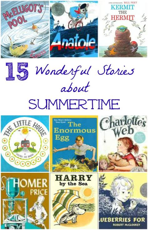 nick s amazing summer books 15 classic books about summer for edventures with