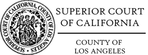 Los Angeles Superior Court Records Resources Jgi Investigator