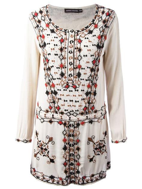 Dress Batik Vera 1 lyst antik batik beaded dress