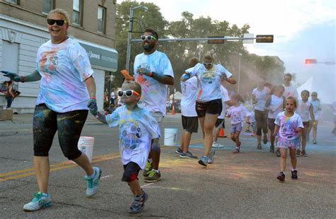 color run columbus new run adds colorful to columbus days local