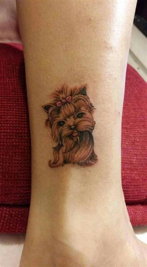 watercolor tattoo yorkshire tatuagem instagram yorkie
