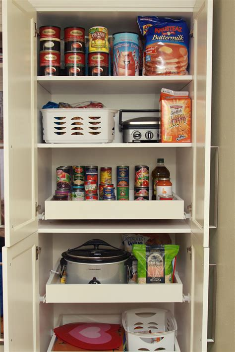 Roll Out Pantry Shelves by How To Deal With Pantry Pull Out Shelves Live Simply By