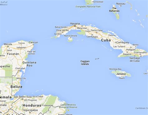 map of cayman islands cayman islands cities map usa maps us country maps