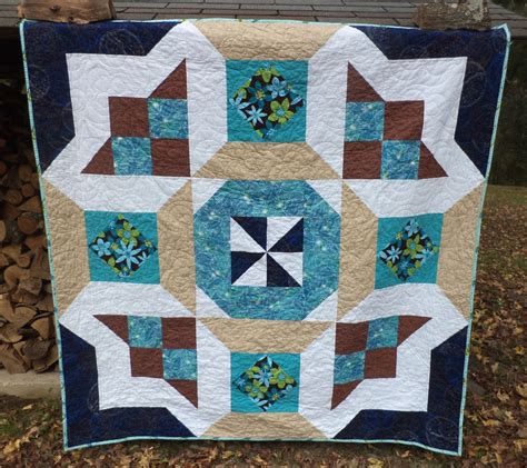 Oversized Quilts by Cat Quilts Oversized Block Quilt And Patchwork