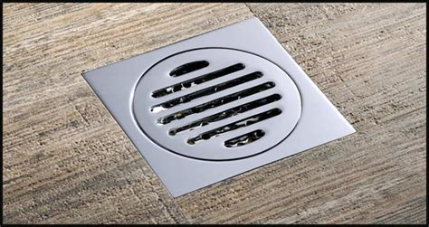 Ordinary Bathroom Drain Cover #6: Drainer-square-shower-floor-drain-with-removable.jpg