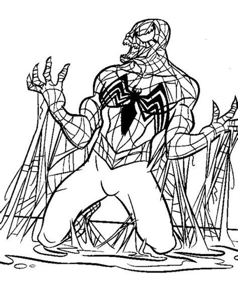 spiderman birthday coloring page spiderman coloring pages venom jaxon birthday