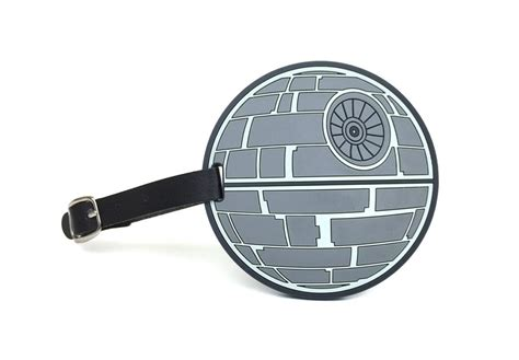 star wars printable luggage tags star wars death star collectible luggage bag tag high
