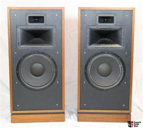nice speakers klipsch forte ii speakers nice vintage speakers photo