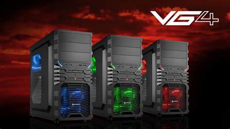 Sharkoon Vg4 W Acrylic Windowed Atx Mid Tower sharkoon vg4 atx geh 228 use de