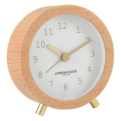 free shipping on fredelig white alarm clock by clock company beyond bright