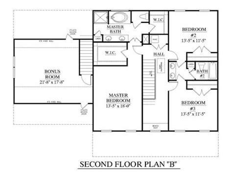 civil floor plan house plan 2543 b rutledge quot b quot second floor two story