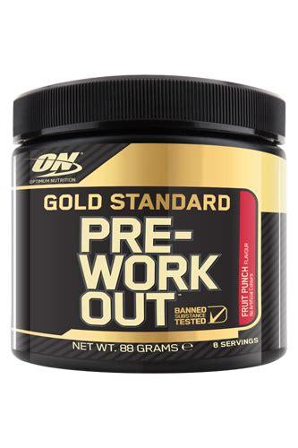 optimum nutrition gold standard pre workout fruit punch 88g probe