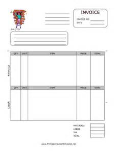 windows invoice template window repair invoice template