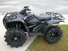 Honda Four Wheelers Honda Rancher This Looks Pretty To Take On A Trail