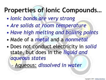 6 2 properties of ionic compounds youtube