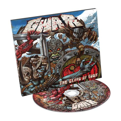 Blood Of Gods gwar quot the blood of gods quot cd metal blade records