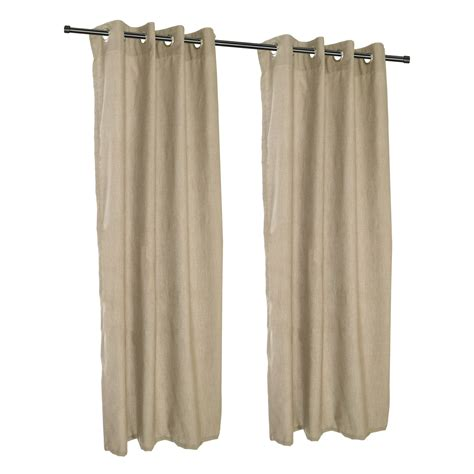 sunbrella outdoor curtain panels cast tinsel grommet sunbrella outdoor curtains