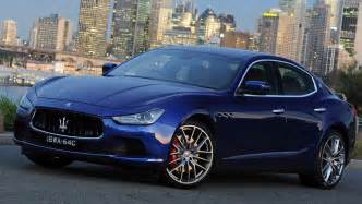 Review Of Maserati Ghibli Maserati Ghibli 2014 Review Carsguide