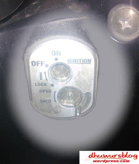 Kunci Magnet Motor Tidak Bisa Dibuka key shutter alias kunci kontak magnet supra 125 ku kok