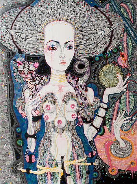 Del Kathryn Barton Artwork by Del Kathryn Barton The Art And The Curious The Art And