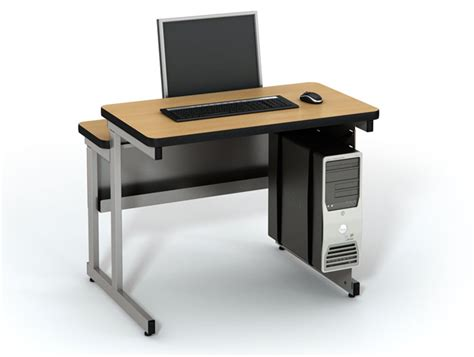 split level table computer lab tables classroom