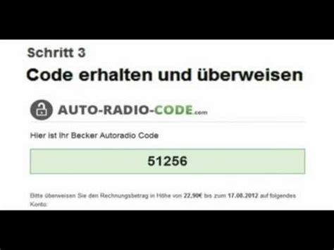 Audi Radio Code Knacken radio code verloren profi hilfe code in 2 min
