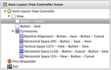 auto layout constraints xcode 6 working with ios 6 auto layout constraints in interface