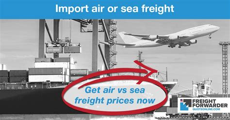 air  sea freight quote instant  importing   usa