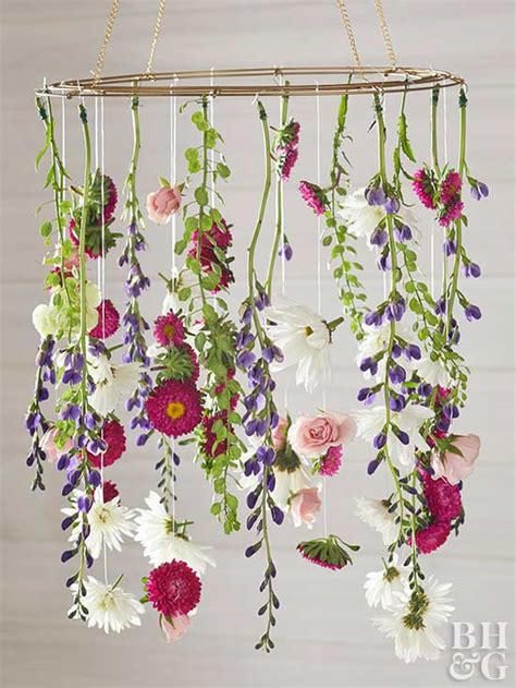 Floral Chandelier Diy Create A Gorgeous Diy Flower Chandelier