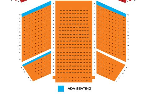 pantages seating chart pantages seating chart pantages theatre seating chart