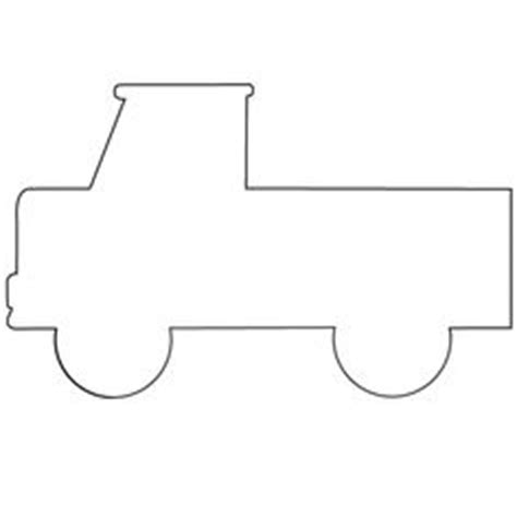 truck template car template would be to do a vehicle week my kiddos