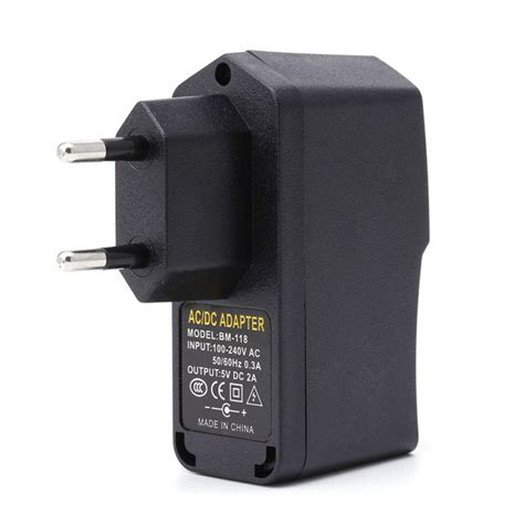 Charger Samsung Original 100 5v 2a 10w ac 100 240v dc 5v 2a 10w eu usb switching power supply adapter charger in ac dc adapters