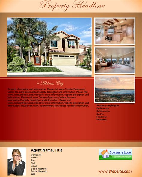 home for sale flyer template for sale by owner flyers