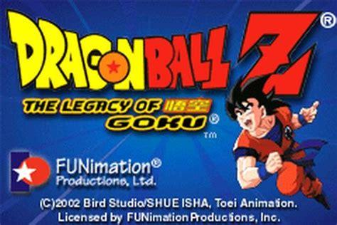 emuparadise legacy of goku 2 in 1 dragon ball z the legacy of goku i ii u