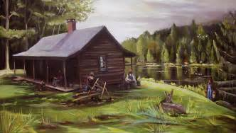 log cabin by the lake by nancy griswold