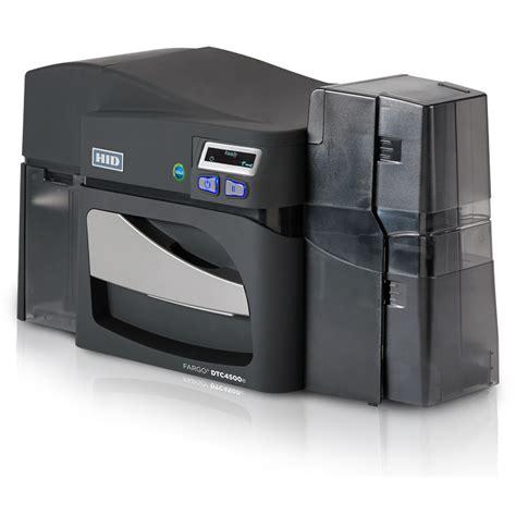 template card hid printer hid 174 fargo 174 dtc4500e high capacity plastic card printer