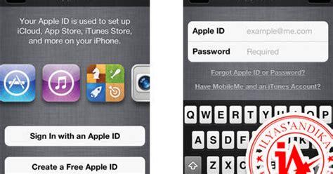 cara membuat id apple melalui iphone cara membuat id apple quot gratis quot tanpa menggunakan kartu