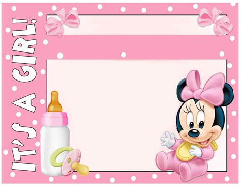free printable minnie mouse invitation templates part 1