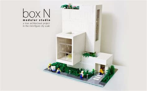 lego house design ideas modern mini houses
