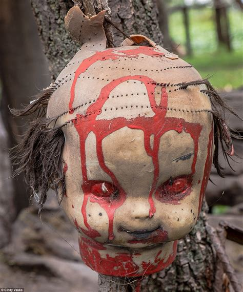 haunted doll city mexico s island of the dolls where toys hang from tress