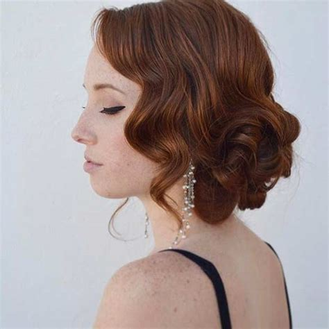 Vintage Prom Hairstyles by 27 Gorgeous Prom Hairstyles For Hair Stayglam