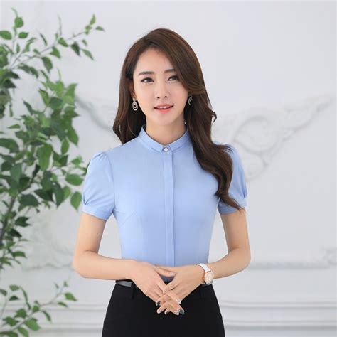 Sale Promo Fashion Wanita Blouse Combi light blue fashion blouses mexican blouse
